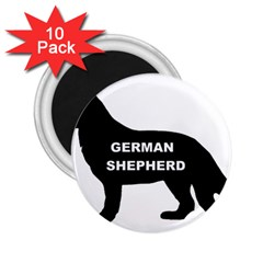 German Shepherd Name Silo 2.25  Magnets (10 pack)