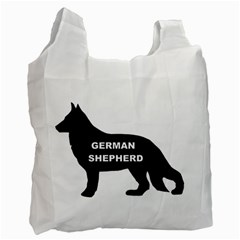 German Shepherd Name Silo Recycle Bag (One Side)