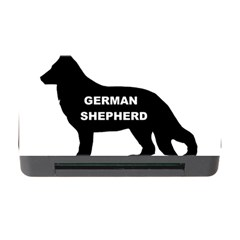 German Shepherd Name Silo Memory Card Reader with CF