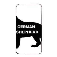 German Shepherd Name Silo Apple iPhone 4/4s Seamless Case (Black)