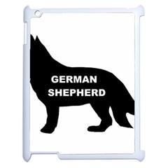 German Shepherd Name Silo Apple iPad 2 Case (White)