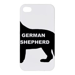 German Shepherd Name Silo Apple iPhone 4/4S Hardshell Case
