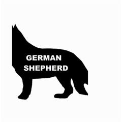 German Shepherd Name Silo Small Garden Flag (Two Sides)