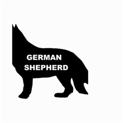 German Shepherd Name Silo Large Garden Flag (Two Sides)