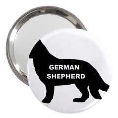 German Shepherd Name Silo 3  Handbag Mirrors