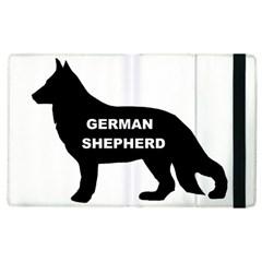 German Shepherd Name Silo Apple iPad 2 Flip Case