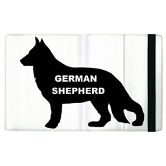 German Shepherd Name Silo Apple iPad 3/4 Flip Case