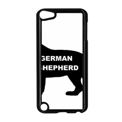 German Shepherd Name Silo Apple iPod Touch 5 Case (Black)