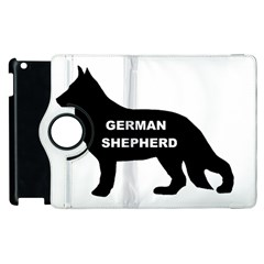 German Shepherd Name Silo Apple iPad 2 Flip 360 Case