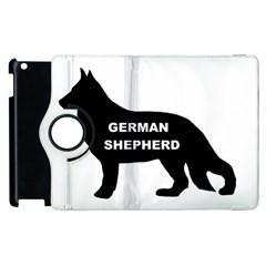 German Shepherd Name Silo Apple iPad 3/4 Flip 360 Case