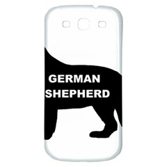 German Shepherd Name Silo Samsung Galaxy S3 S III Classic Hardshell Back Case