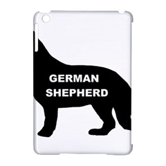 German Shepherd Name Silo Apple iPad Mini Hardshell Case (Compatible with Smart Cover)