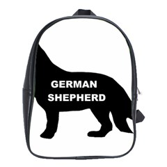 German Shepherd Name Silo School Bags (XL)