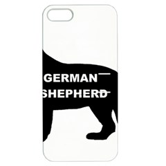 German Shepherd Name Silo Apple iPhone 5 Hardshell Case with Stand
