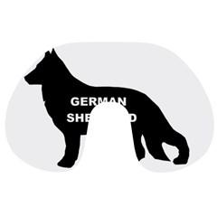 German Shepherd Name Silo Travel Neck Pillows