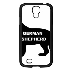 German Shepherd Name Silo Samsung Galaxy S4 I9500/ I9505 Case (Black)