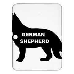 German Shepherd Name Silo Samsung Galaxy Tab 3 (10.1 ) P5200 Hardshell Case