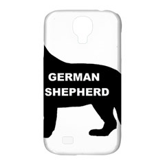 German Shepherd Name Silo Samsung Galaxy S4 Classic Hardshell Case (PC+Silicone)