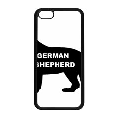 German Shepherd Name Silo Apple iPhone 5C Seamless Case (Black)