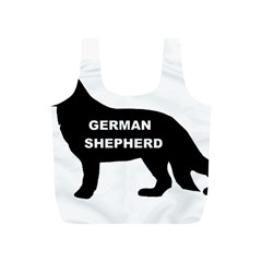 German Shepherd Name Silo Full Print Recycle Bags (S)