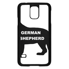 German Shepherd Name Silo Samsung Galaxy S5 Case (Black)