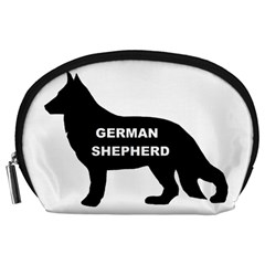 German Shepherd Name Silo Accessory Pouches (Large)