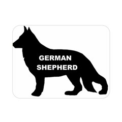 German Shepherd Name Silo Double Sided Flano Blanket (Mini)