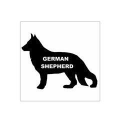 German Shepherd Name Silo Satin Bandana Scarf