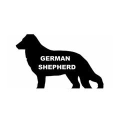 German Shepherd Name Silo Satin Wrap