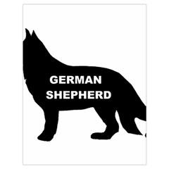German Shepherd Name Silo Drawstring Bag (Large)