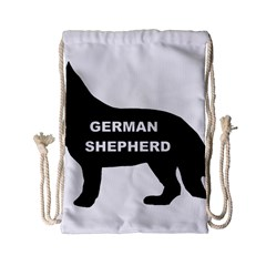 German Shepherd Name Silo Drawstring Bag (Small)