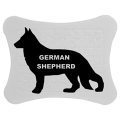 German Shepherd Name Silo Jigsaw Puzzle Photo Stand (Bow)