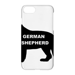 German Shepherd Name Silo Apple iPhone 7 Hardshell Case