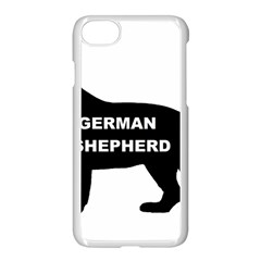 German Shepherd Name Silo Apple iPhone 7 Seamless Case (White)