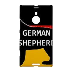 German Shepherd Name Silhouette On Flag Black Nokia Lumia 1520