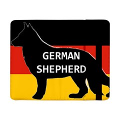 German Shepherd Name Silhouette On Flag Black Samsung Galaxy Tab Pro 8.4  Flip Case