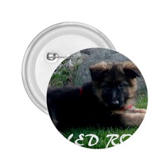 Spoiled Rotten German Shepherd 2.25  Buttons