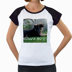 Spoiled Rotten German Shepherd Women s Cap Sleeve T