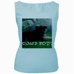 Spoiled Rotten German Shepherd Women s Baby Blue Tank Top