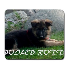 Spoiled Rotten German Shepherd Large Mousepads