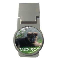 Spoiled Rotten German Shepherd Money Clips (Round)