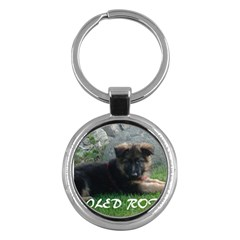 Spoiled Rotten German Shepherd Key Chains (Round)