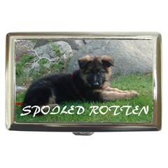 Spoiled Rotten German Shepherd Cigarette Money Cases