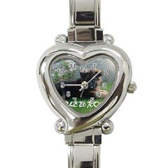 Spoiled Rotten German Shepherd Heart Italian Charm Watch