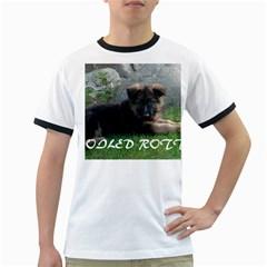 Spoiled Rotten German Shepherd Ringer T-Shirts