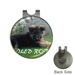 Spoiled Rotten German Shepherd Hat Clips with Golf Markers