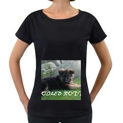 Spoiled Rotten German Shepherd Women s Loose-Fit T-Shirt (Black)