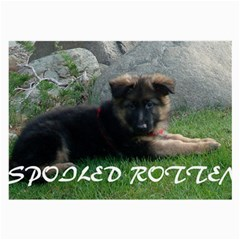 Spoiled Rotten German Shepherd Large Glasses Cloth