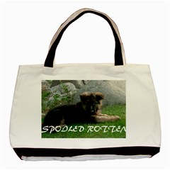 Spoiled Rotten German Shepherd Basic Tote Bag (Two Sides)