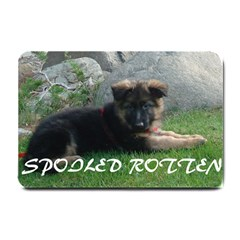 Spoiled Rotten German Shepherd Small Doormat